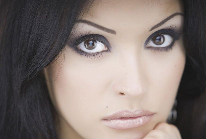 Как правильно красить зеленые и карие глаза?