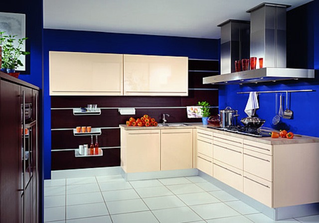 Идеи для кухни: добавляем цвет