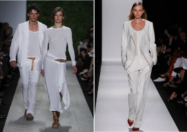 Женская и мужская мода весны-лета 2012