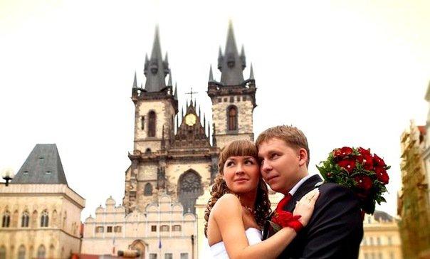 Сказочная свадьба в Праге – праздник души и для лириков, и для физиков