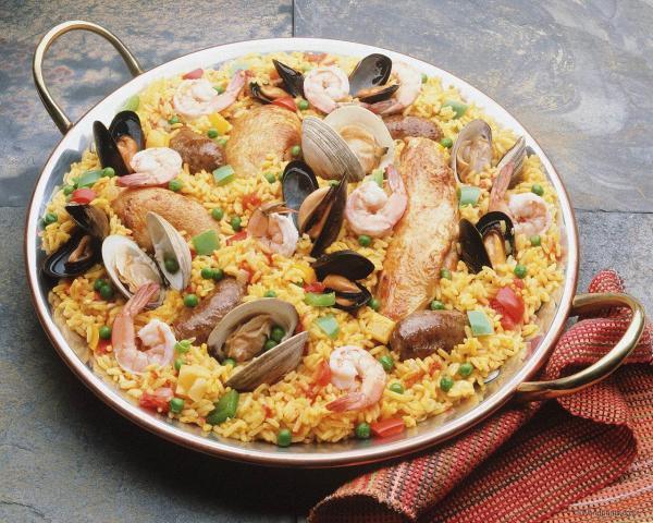 Паэлья - шедевр испанской кухни
