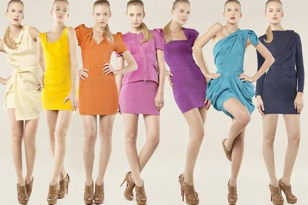 А какого цвета одежда на вас?