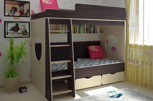 Выбор надежной и удобной двухъярусной кровати