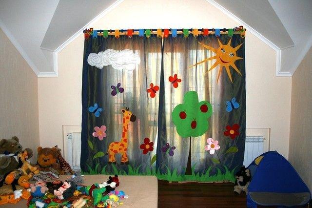 Шторы для детской комнаты: как не ошибиться с выбором?