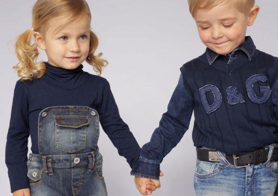 Модные тренды детской одежды: сезон лето-осень 2012