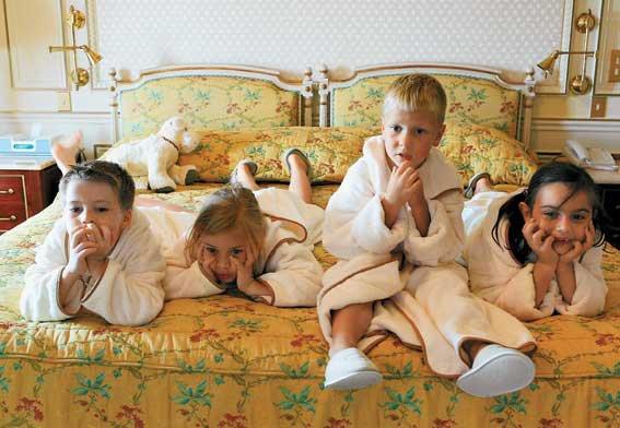 В каких отелях отдыхать с детьми?