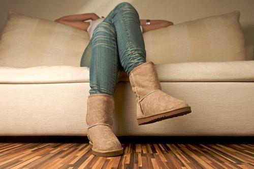 Угги «правят» зимней модой на обувь