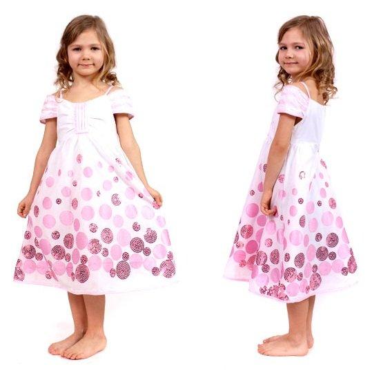 Учим девочку носить платья