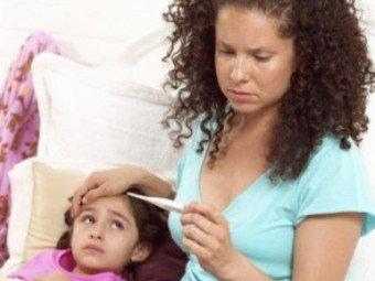 Что делать, если ребенок простыл?
