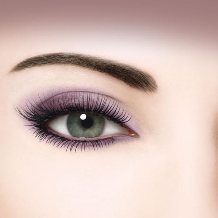 Как правильно красить серые глаза?