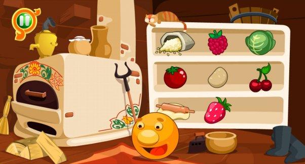 «Колобок и Чудо-печка» — учимся играя! Детское приложение на Андроид