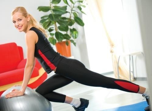 Фитнес дома: нужно лишь желание