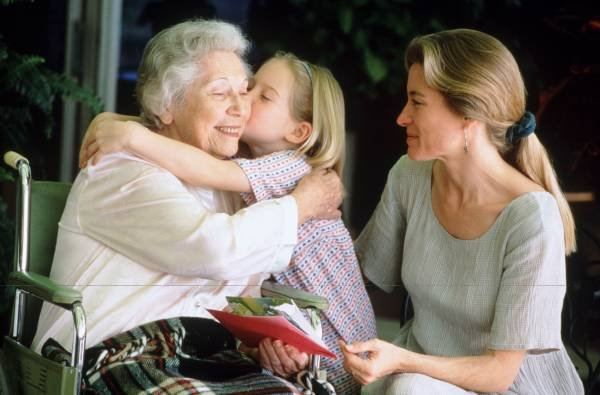 Воспитание уважения к старшему поколению