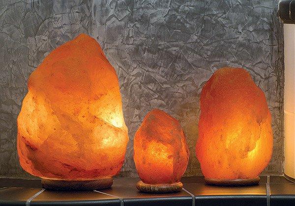 Соляной светильник - вернем себе жизненные силы!