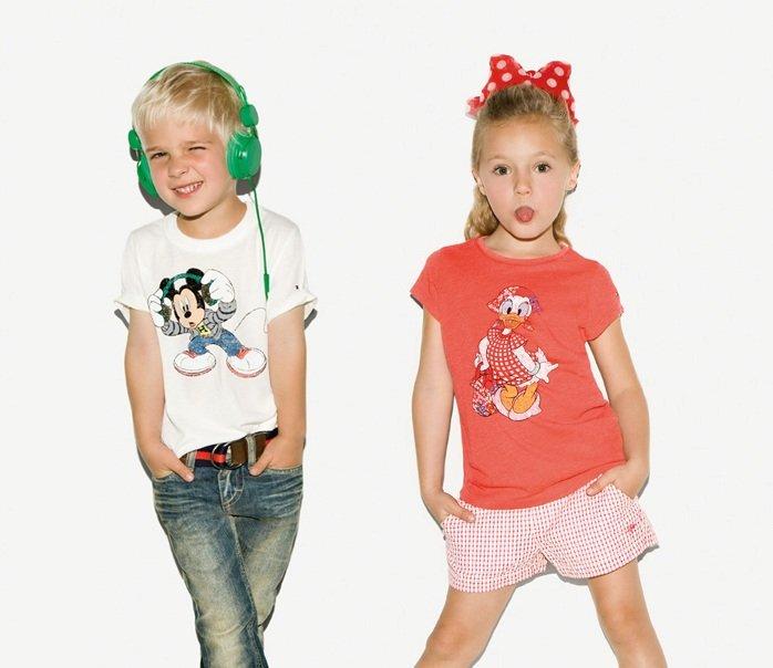 Детская мода от Диснея