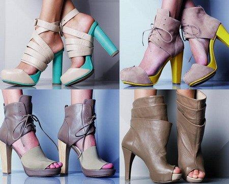 Обувные тренды весны 2013