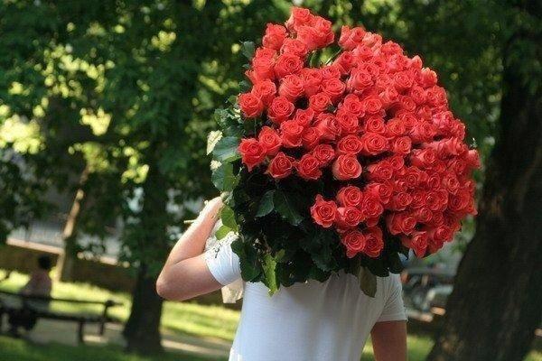 Сюрприз для любимой - доставка цветов на дом