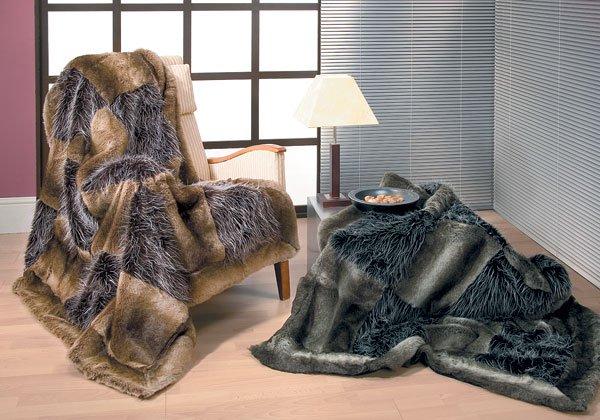 Плед – важный элемент уюта в вашем доме