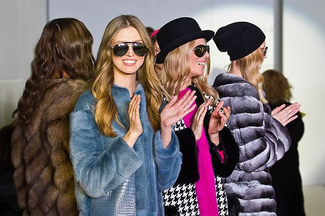 Мода на меха - прогнозы на зиму 2014