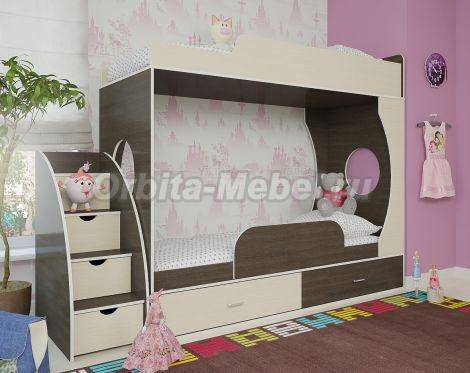Двухъярусные кровати в интернет магазине Орбита-мебель
