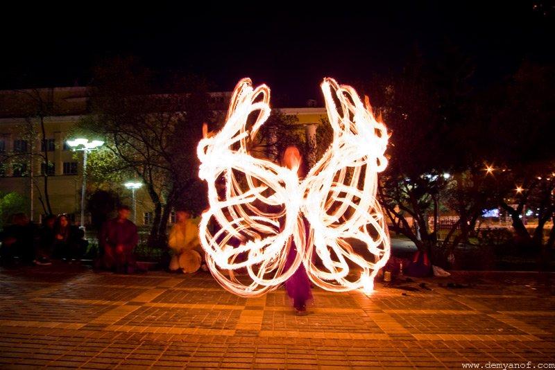 Театр огня дарит праздник