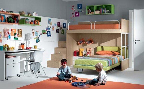 Дизайн детской для двоих мальчиков