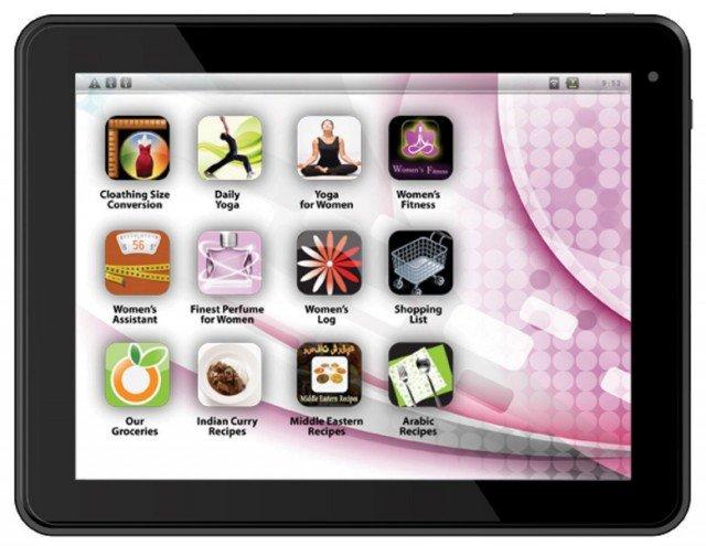 еPad Femme Tablet – первый планшет исключительно для женщин