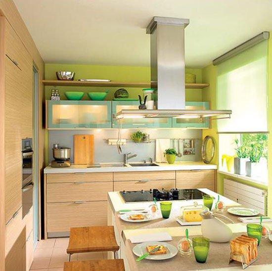 Главные акценты кухонного интерьера