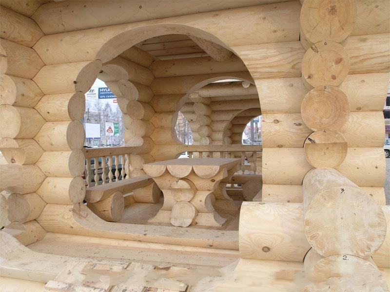 Защита конструкций и строений из древесины