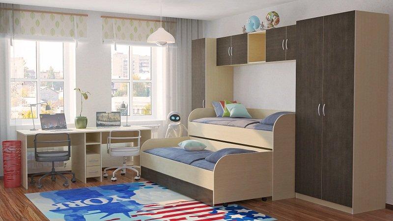 Как правильно укомплектовать детскую комнату?