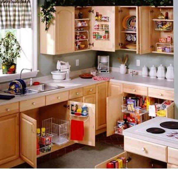 От чего зависит порядок на кухне?
