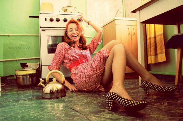Любите ли вы домохозяйку так, как она любит свое домашнее хозяйство?