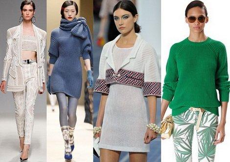 Трикотажные платья – тренд этого года