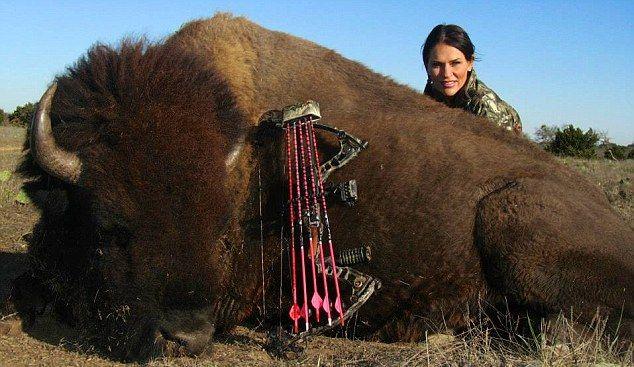 Американские женщины любят ходить на охоту