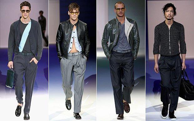 Модные образы современных мужчин