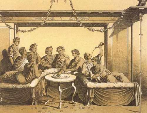 История сервировки стола