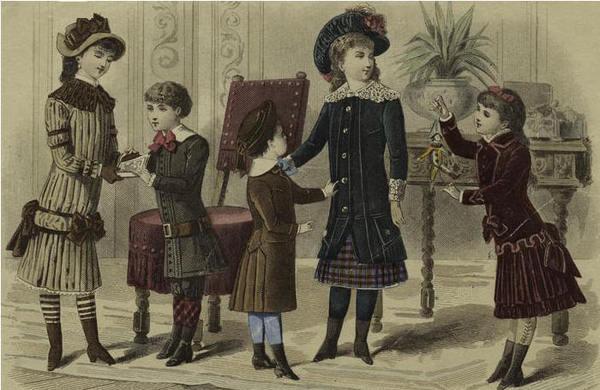 Детская одежда 20-е годы