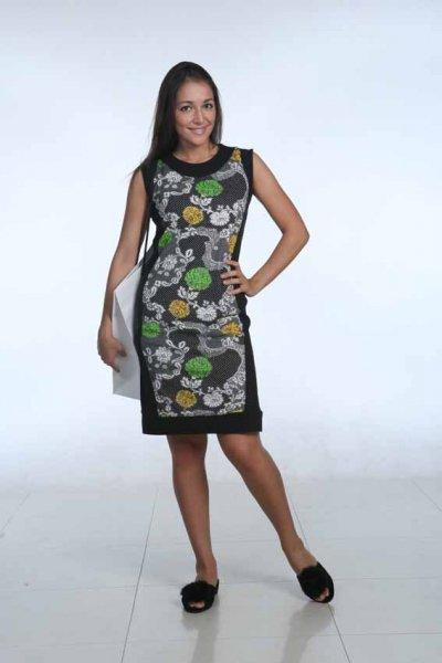 Модные трикотажные платья  весной и летом 2015 года