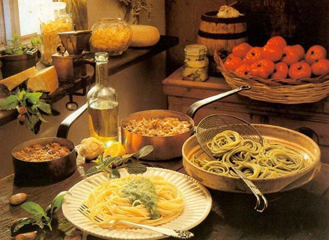 Некоторые особенности итальянской кухни