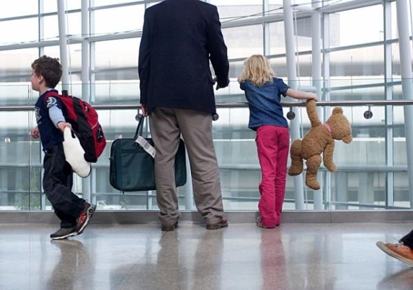 С ребенком за границу