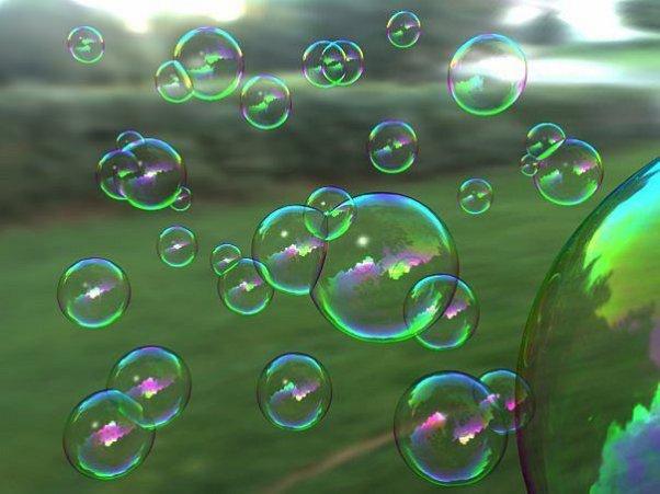 Как лучше приготовить раствор для мыльных пузырей