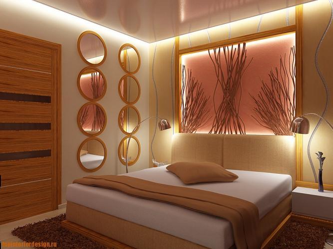 Как создать уют в спальне при помощи светильников?