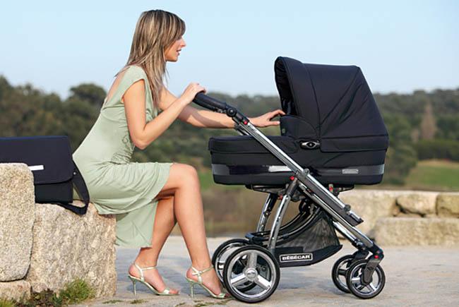 Выбираем малышу коляску