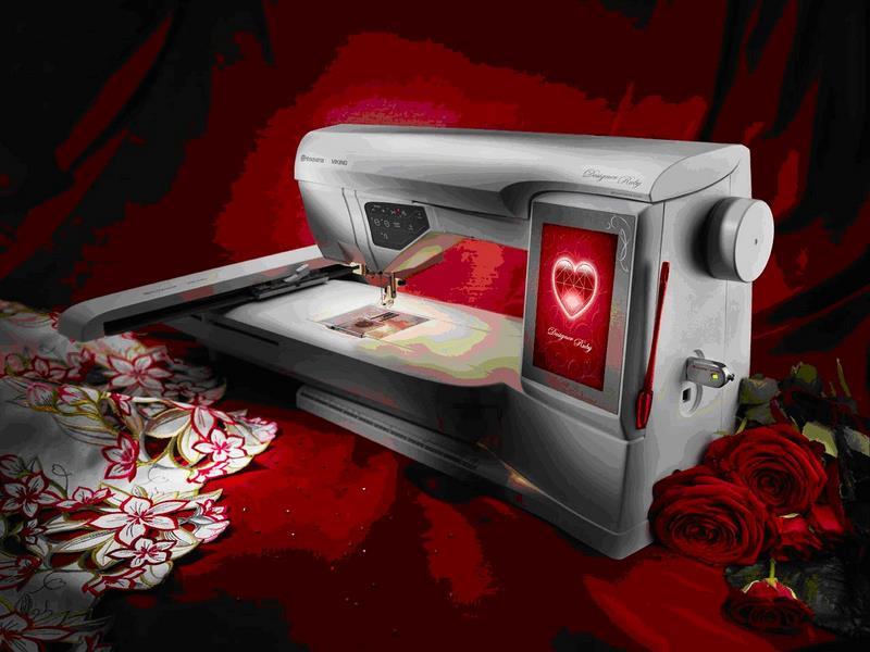 Некоторые основные особенности вышивальных машин