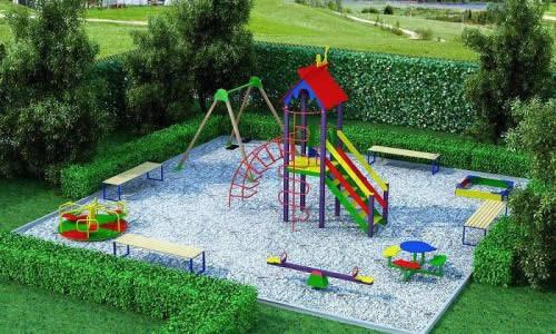 Несколько советов по обустройству детской площадки на загородном участке