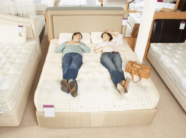 Выбирая кровать с матрасом