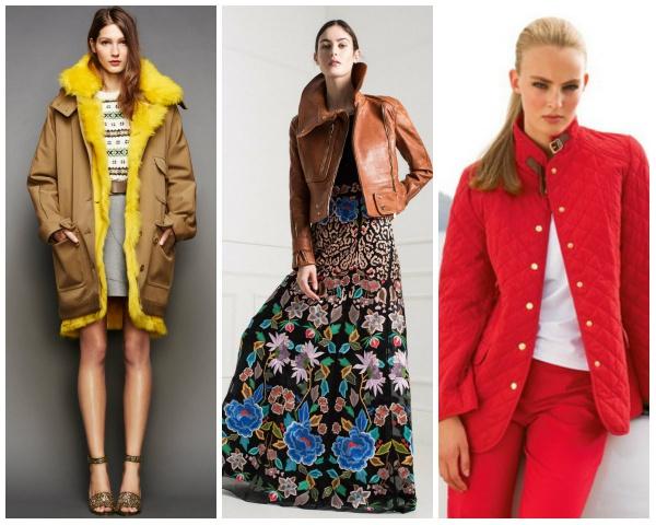Актуальные цвета курток сезона весна 2017