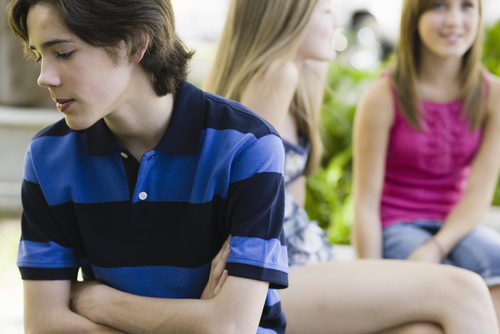 Подростки и скромность
